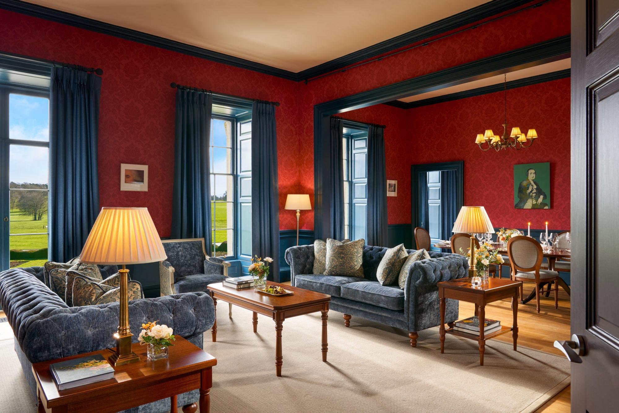 House Presidential Suite at Carton House – The Duke sitting room – copyright Carton House-jpg