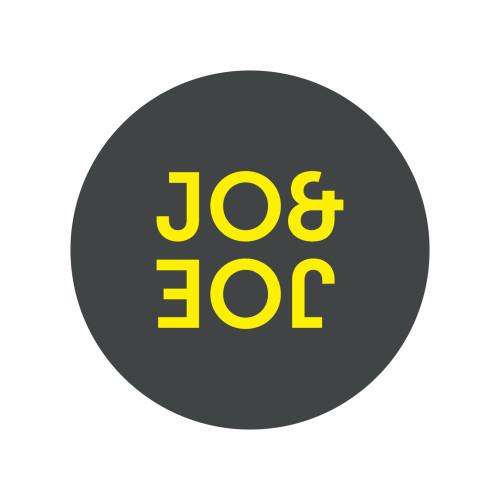 Jo&Joe Fond gris logo