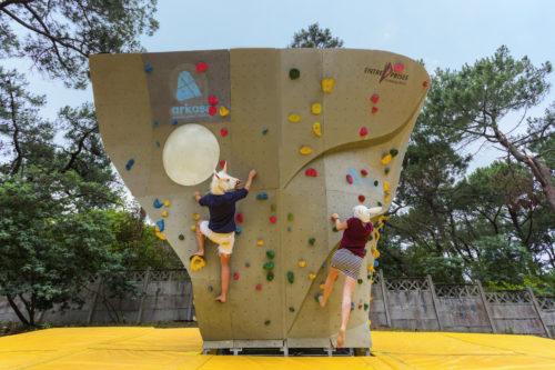 OpenHouse Hossegor - Climbing Wall - Jeremie Mazenq - Abaca