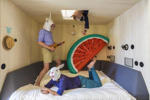 OpenHouse Hossegor - « us » bed - Jeremie Mazenq - Abaca