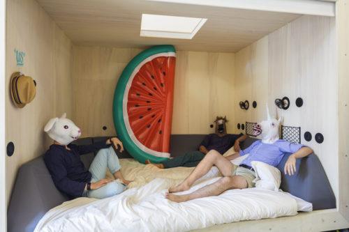 OpenHouse Hossegor - « us » bed 2 - Jeremie Mazenq - Abaca
