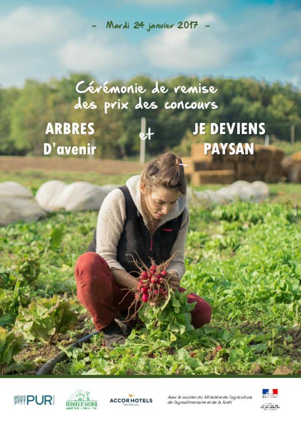 DP Cérémonie Remise des Prix 240117 Arbres d'Avenir et Je deviens paysan.pdf