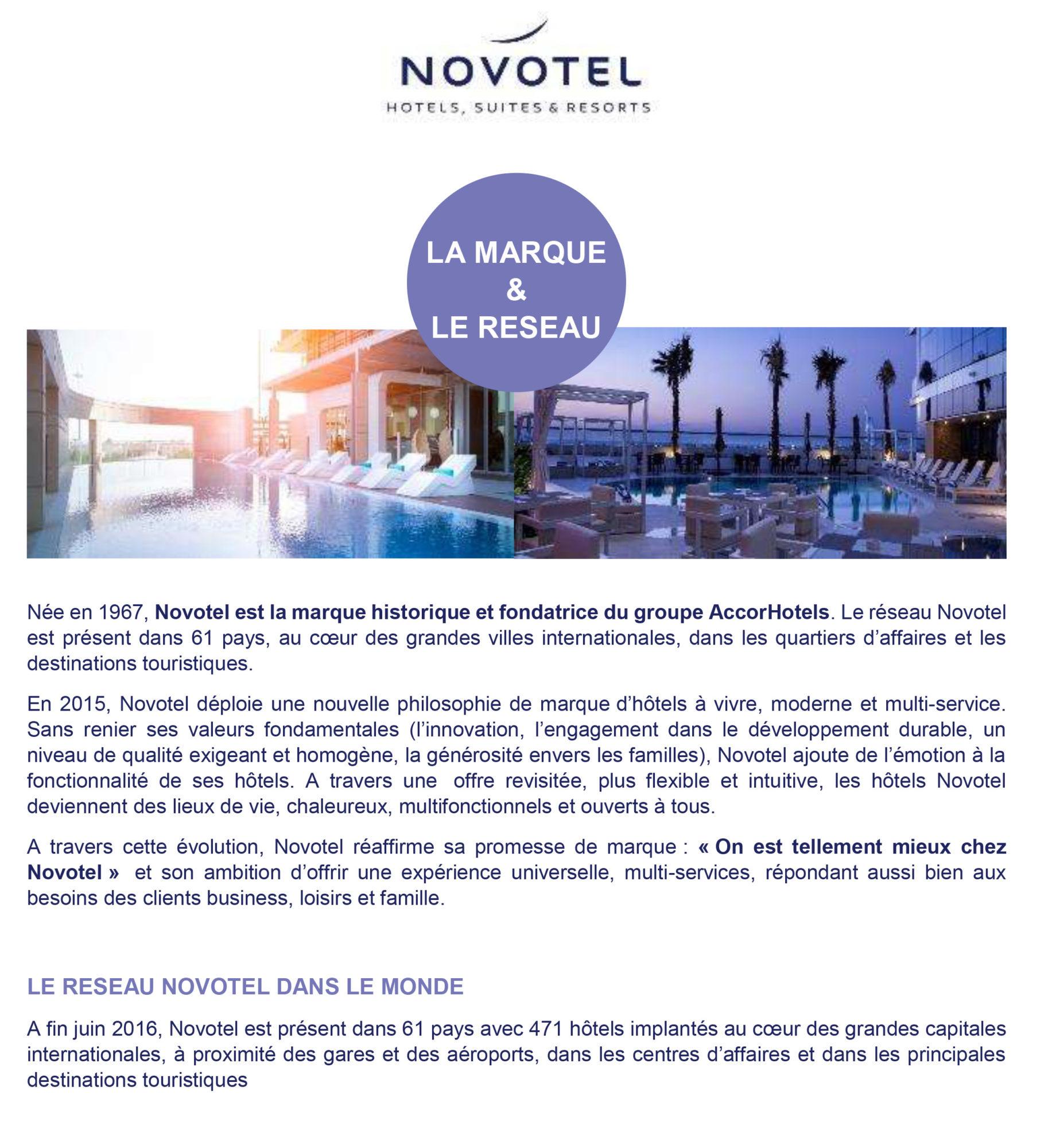 Novotel en quelques chiffres