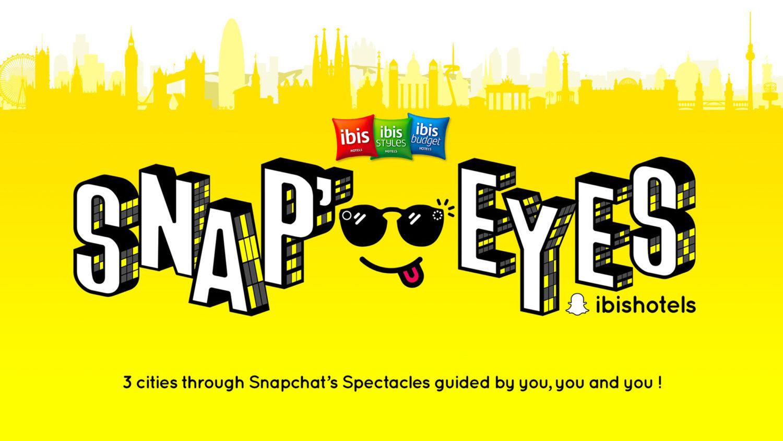 SNAP'EYES by ibisIbis réinvente le city trip avec les Snapchat Spectacles®