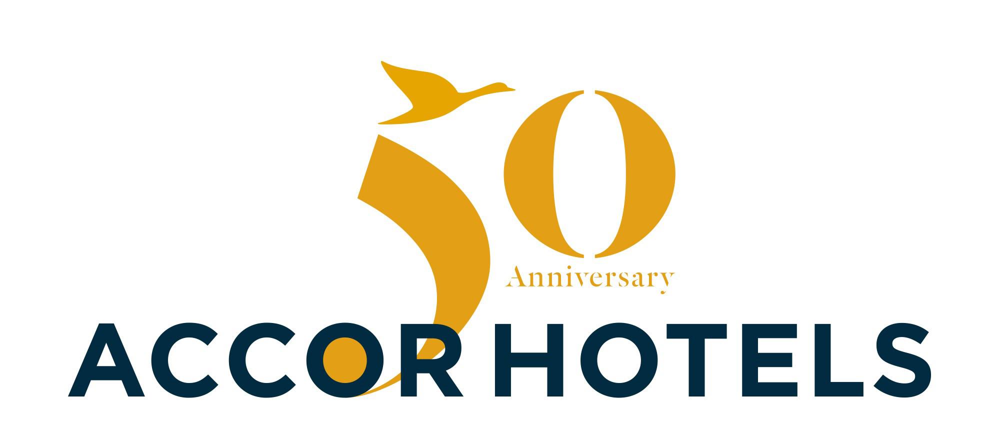 accorhotels celebrates its 50th anniversary accorhotels rh press accorhotels group 50th anniversary logo design 50th anniversary logos 50 years