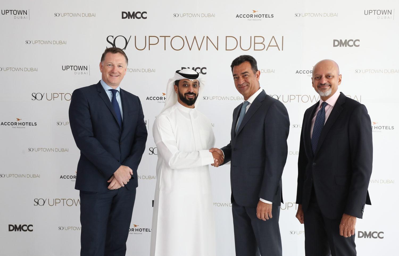 AccorHotels annonce le premier projet d'hôtel SO/ au Moyen-Orient, en collaboration avec DMCC - Ouverture prévue en 2020