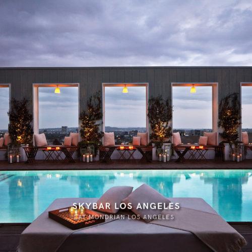 Skybar at Mondrian - Los Angeles