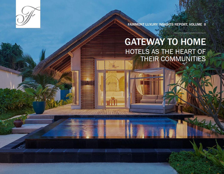 Une nouvelle étude Fairmont démontre que les voyageurs aisés souhaitent vivre des expériences exclusives et considèrent les hôtels comme des ...