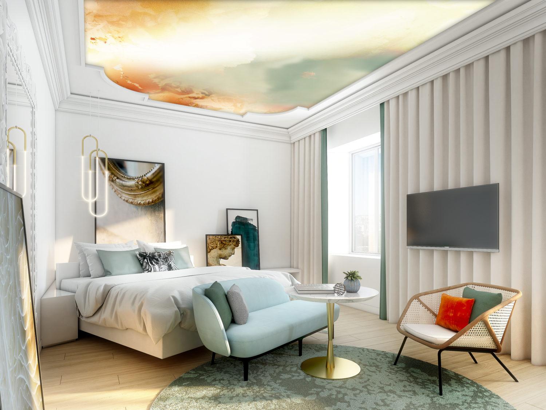 Le Sofitel Rome Villa Borghese ouvrira ses portes le 1erjuillet après d'importants travaux de rénovation signés Jean-Philippe Nuel