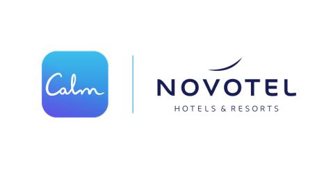 Novotel s'associe à l'application de méditation Calm et place le bien-être au cœur de l'expérience de voyage