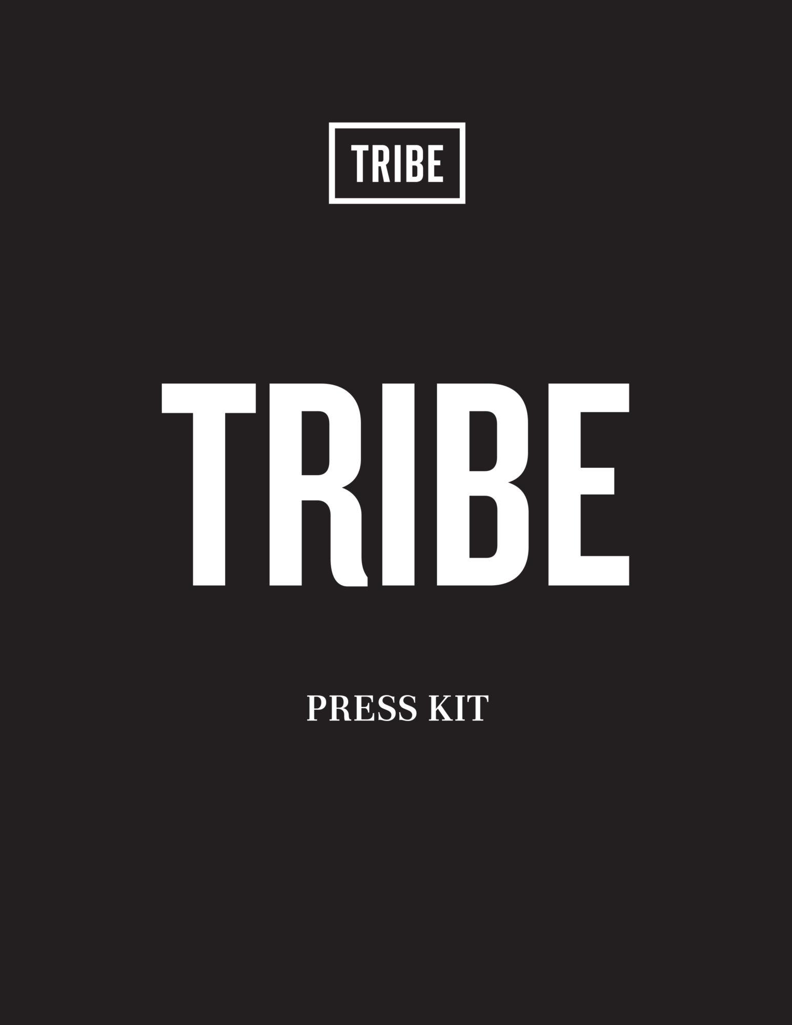 TRIBE Press kit - September 2020